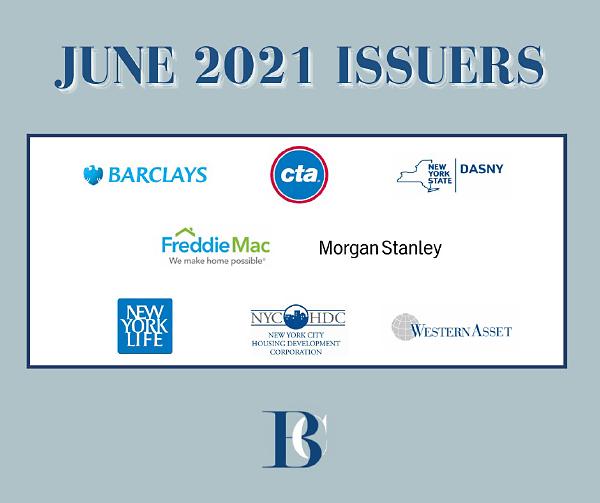 June 2021 Issuers